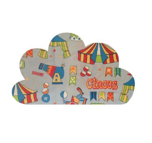 Cloud pin board - 'circus'