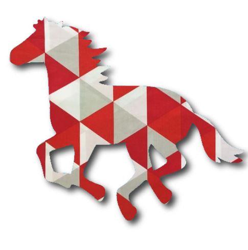 Unicorn or horse pin board - 'tri'