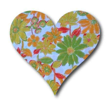 Heart pin board - 'sunshine'