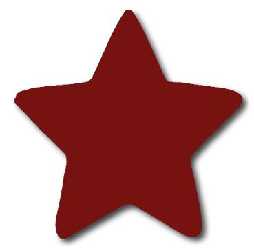 Star pin board - 'burgundy'