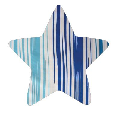 Star pin board - 'blue streak'