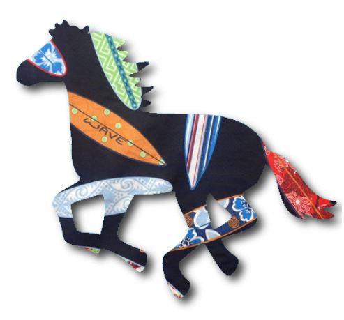 Unicorn or horse pin board - 'surferini'