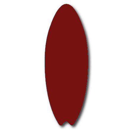 Surfboard pin board - 'burgundy'