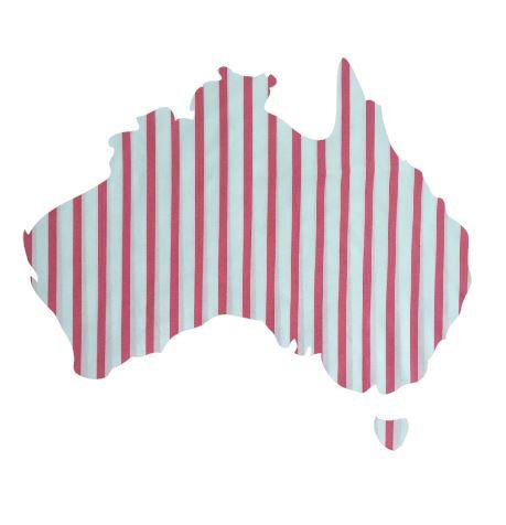 Australia Map pin board  - 'p line'