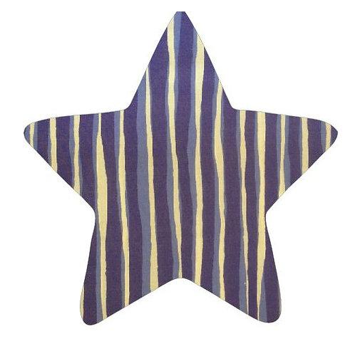 Star pin board - 'blue poles'