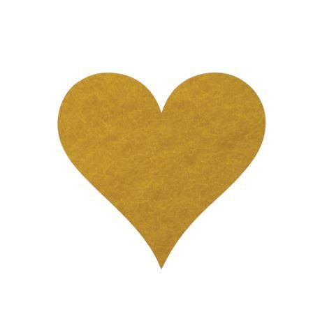 Heart pin board - 'yellow'