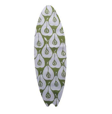 Surfboard pin board - 'pear party'