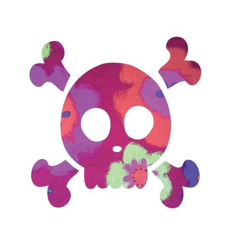 Skull and Crossbones pin board - 'gerby'