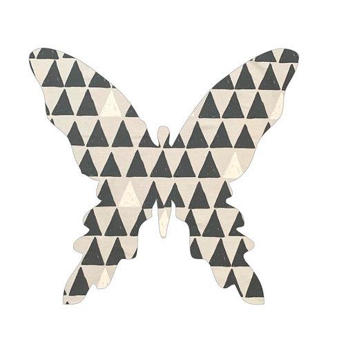 Butterfly pin board - 'pointy'