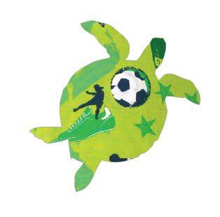 Turtle pin board - 'kick it'