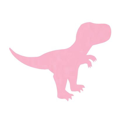 T- Rex pin board - 'soft pink'