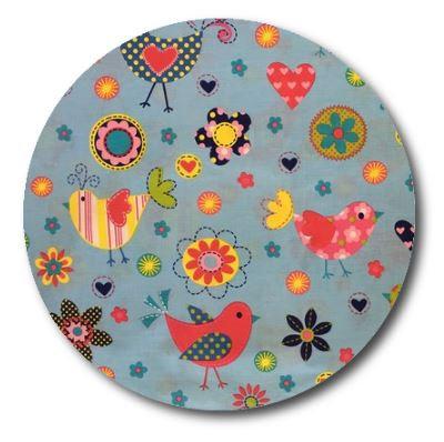 Circle pin board 'happy place'