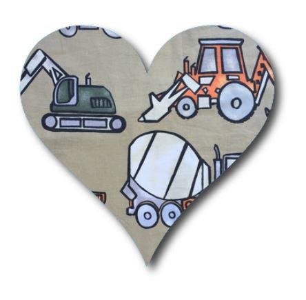 Heart pin board - 'truckin'