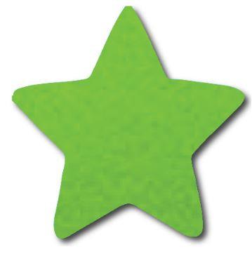 Star pin board - 'lime'