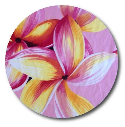 Circle pin board 'franjipanni'