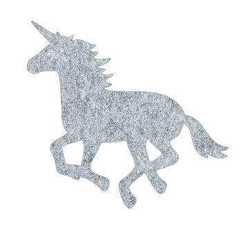 Unicorn or horse pin board - 'grey fuzz'