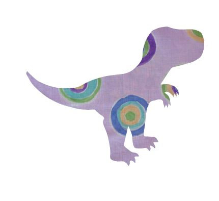 T- Rex - lilac b