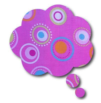 Thought bubble -'dot'
