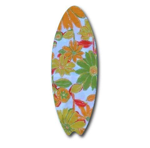 Surfboard pin board - 'sunshine'