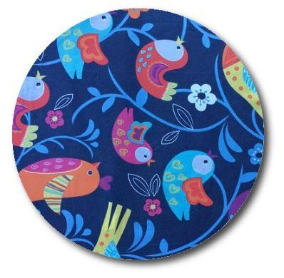 Circle pin board 'birdie'