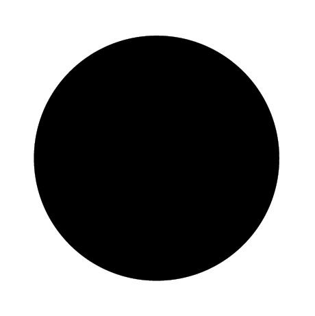 Circle pin board 'black'