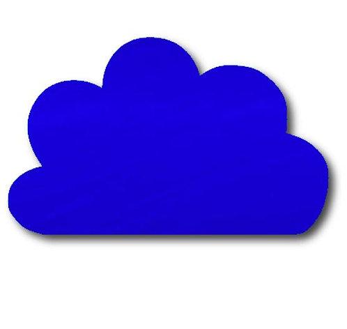 Cloud pin board - 'royal blue'