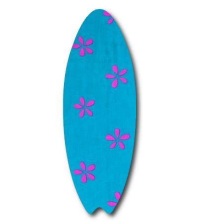 Surfboard pin board - 'daisy doo'