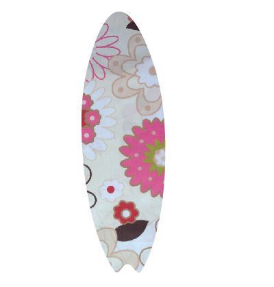 Surfboard pin board - 'spring has sprung'