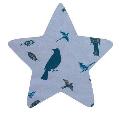 Star pin board - 'teal birds'