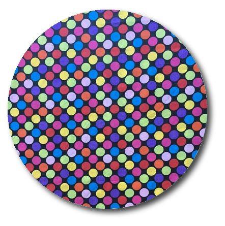 Circle pin board 'bling'