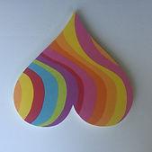 heart shaped pin board