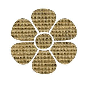 Flower pin board - 'sack'