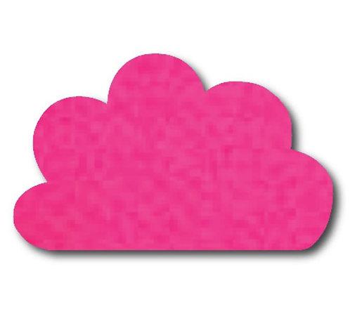 Cloud pin board - 'hot pink'