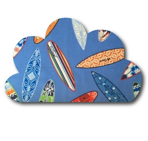 Cloud pin board - 'surferini sky'