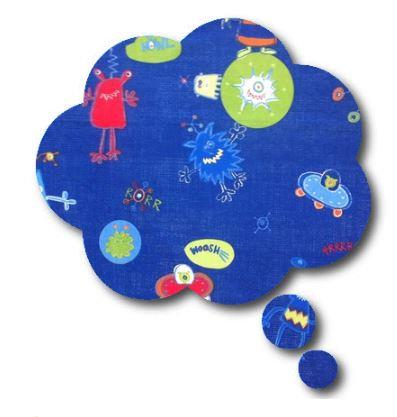Thought bubble -'alien'