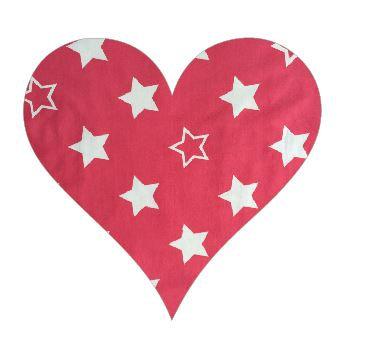Heart pin board - 'starsky'