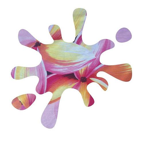 Splat pin board - 'franjipani'