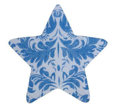 Star pin board - 'china blue'