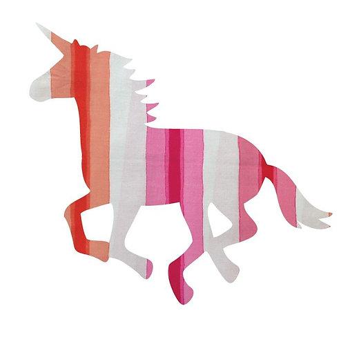 Unicorn or horse pin board - 'pop stripe'