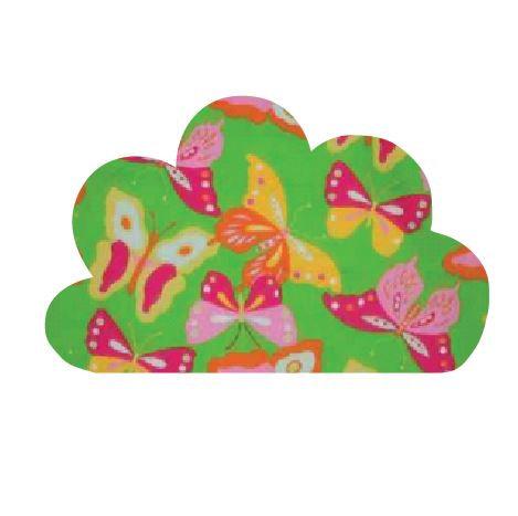 Cloud pin board - 'butterflies'