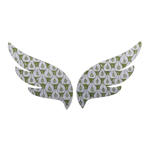 Pair of wings pin board 'pear party'