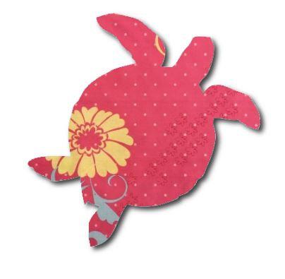 Turtle pin board - 'flourish'