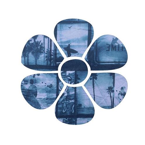 Flower pin board - 'surfilm'