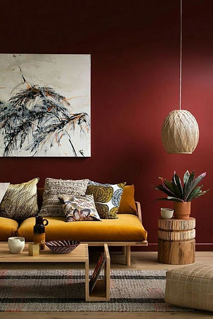 using colour in interior design - don't be afraid of colour