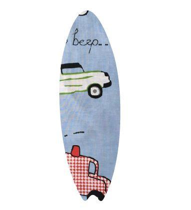 Surfboard pin board - 'beep'
