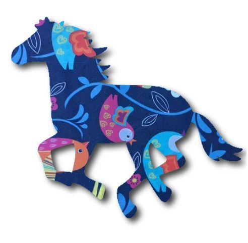 Unicorn or horse pin board - 'birdie'