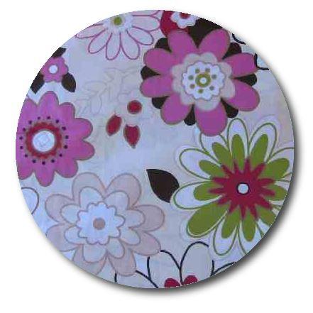 Circle pin board 'spring has sprung'