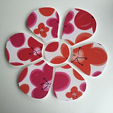 flower shaped pin board