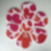 flower shaped pin board