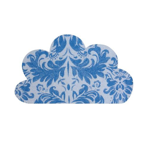 Cloud pin board - 'china blue'
